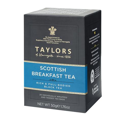 NG品 Taylors 英國泰勒蘇格蘭早餐茶(20包/盒)