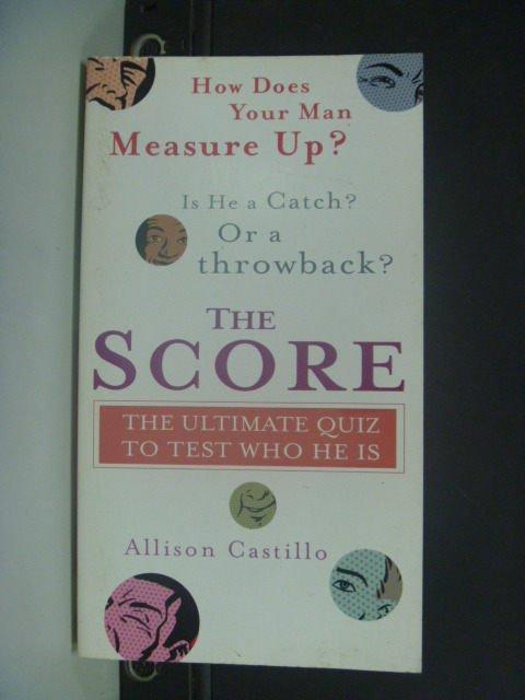 【書寶二手書T9/心理_KHF】The Score: The Ultimate Quiz to_Allison
