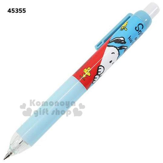 〔小禮堂〕史努比 自動鉛筆《藍.多糊塗塔克》增加學習樂趣