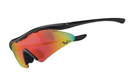 【露營趣】720 armour Rider T337Lite-4 6彎 防爆PC片 單車眼鏡 運動太陽眼鏡 防風眼鏡 運動眼鏡 自行車眼鏡 灰紅色多層鍍膜
