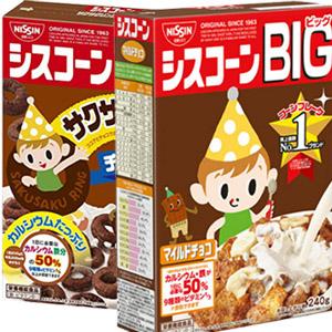 日本 日清 BIG早餐麥片(紙盒款) [JP525]