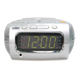 SAMPO聲寶CD/AM/FM鬧鐘手提音響(AK-W711ML)福利品