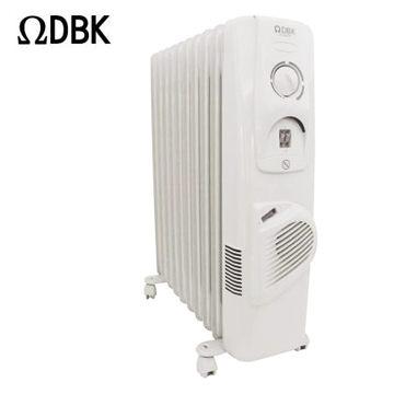 Ω DBK 10葉片暖風電暖爐 CA-10V