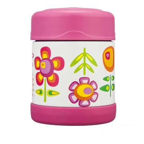 THERMOS 膳魔師 300ml 小花兒篇不鏽鋼真空燜燒食物罐 F3001OW6 **可刷卡!免運費**
