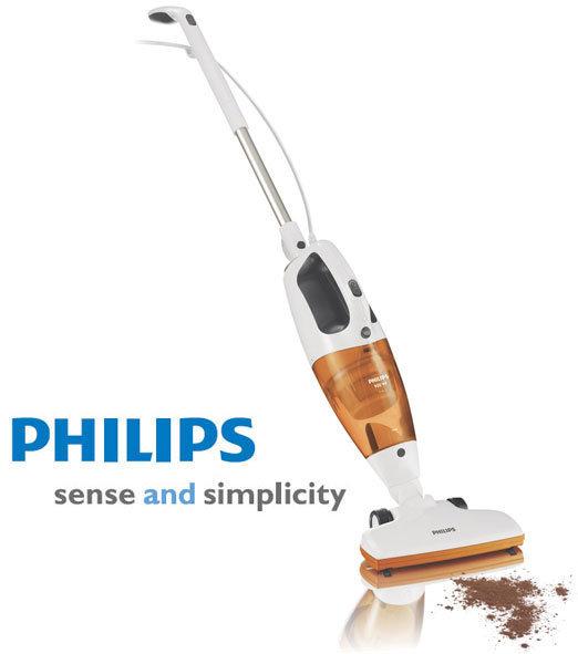 PHILIP 飛利浦手持式二合一吸塵器 FC6132/ FC-6132