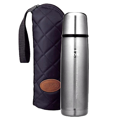 THERMOS膳魔師真空保溫保冰瓶 FDW-500CF 銀色