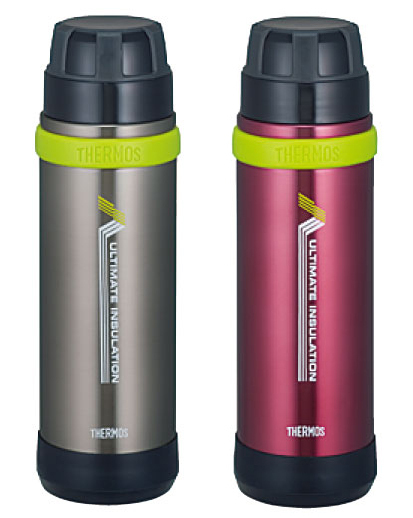 THERMOS 膳魔師登山健行專用超輕真空保溫瓶 FEK-800 黑灰色、暗紅色 **可刷卡!免運費**