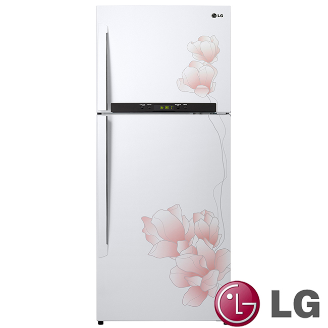 【LG樂金】花之舞系列414L雙門冰箱/GN-M562GP**可刷卡!免運費**
