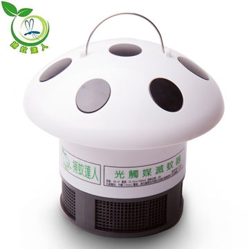 捕蚊達人 超級第二代 光觸媒捕蚊器 / 滅蚊器 GR-01(M)白色