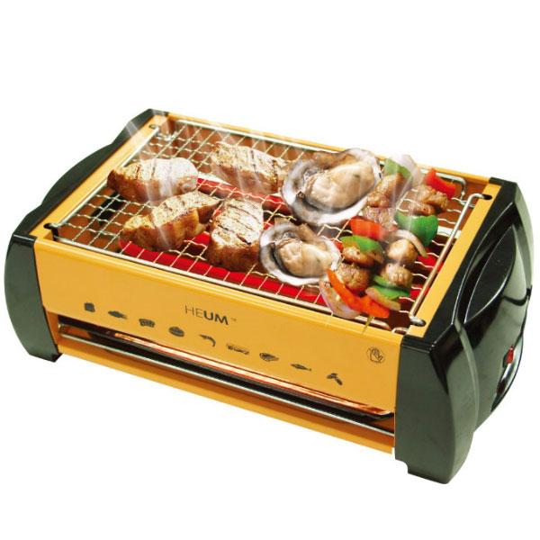 韓國 HEUM 不銹鋼網架電煎烤爐 / 烤肉爐 HU-J982
