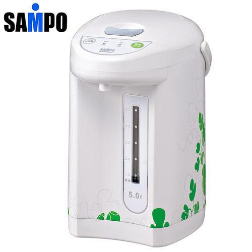SAMPO聲寶(5L)微電腦電熱水瓶,KP-KA50W-G