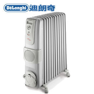 Delonghi 迪朗奇十二片熱對流暖風葉片式電暖器 KR791215V●義大利原裝進口
