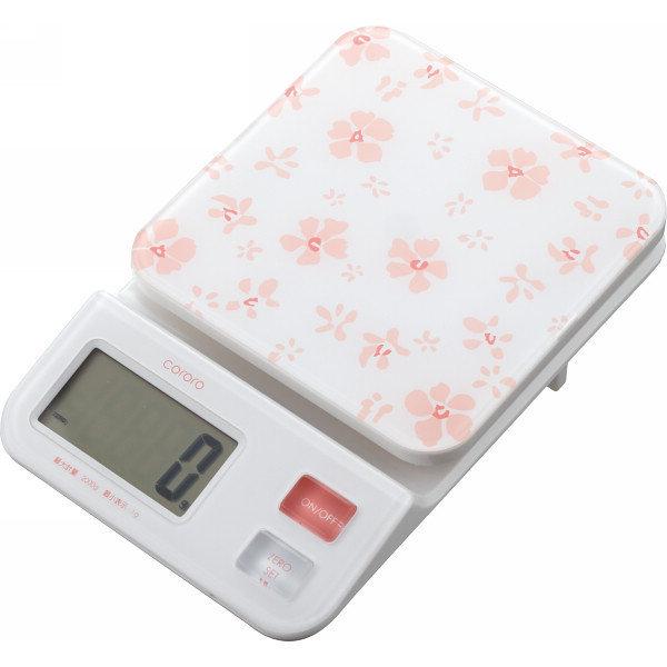 日本 DRETEC 多利科 幾何圖形料理電子秤 KS-221-PKCO 粉櫻色款