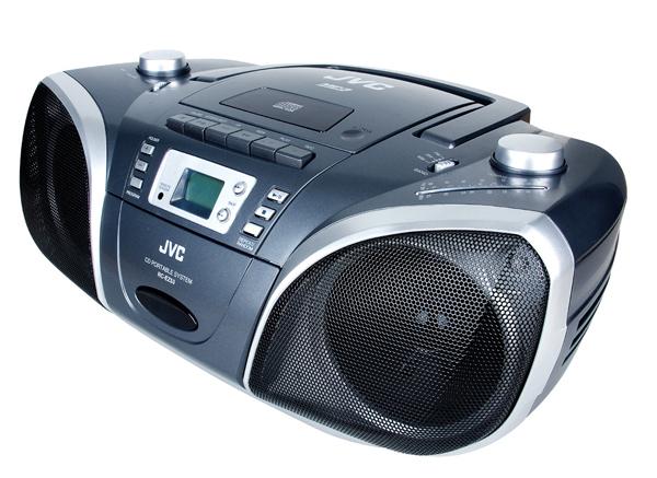 JVC 傑偉士 CD/MP3手提音響 RC-EZ53H