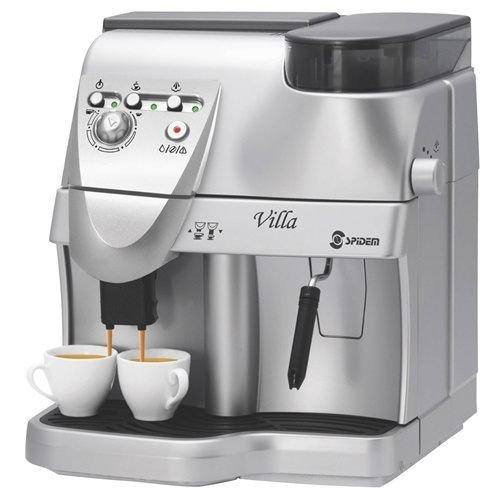 義大利 Saeco Spidem Villa 浪漫銀貂義式全自動咖啡機 飛利浦保固2年
