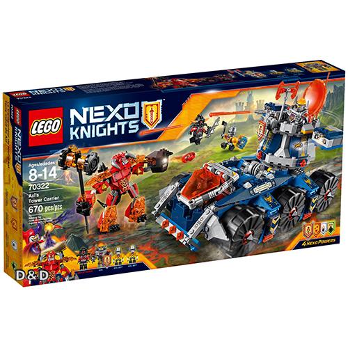 樂高積木LEGO《 LT70322 》Nexo Knights 未來騎士系列 - 艾克索的塔防戰鬥車