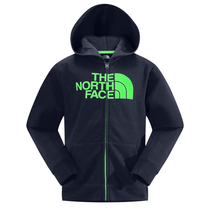 【鄉野情戶外專業】The North Face |美國| LOGO 連帽外套 男童/CSE2