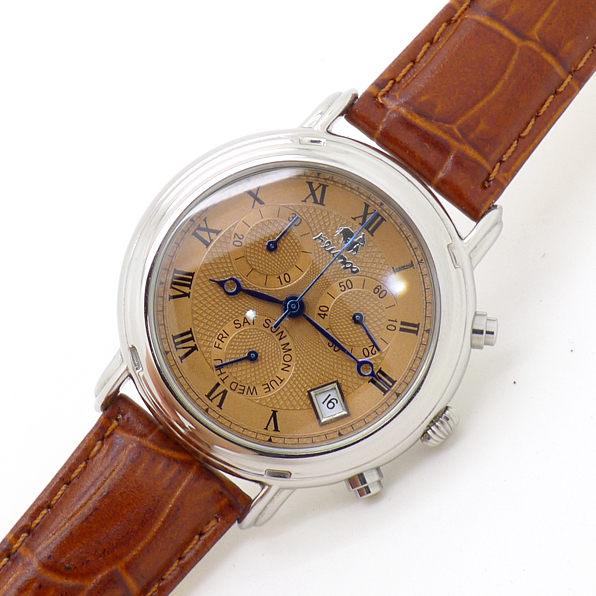 《好時光》FLUNGO 佛朗明哥 真三眼 日期 星期 計時碼表 典藏款 石英錶 男錶 購物台熱賣