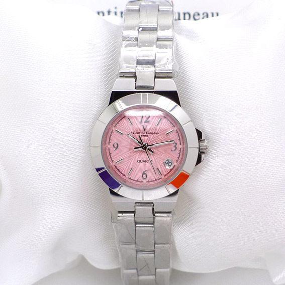 《好時光》Valentino 范倫鐵諾 馬卡龍 OL小姐 圓形數字 日期 水波紋不鏽鋼女錶 男錶 對錶