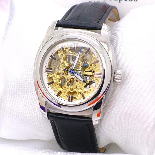 《好時光》Valentino Coupeau 范倫鐵諾 金色機芯 雙面鏤空 玫瑰金時刻 夜光指針 自動機械錶