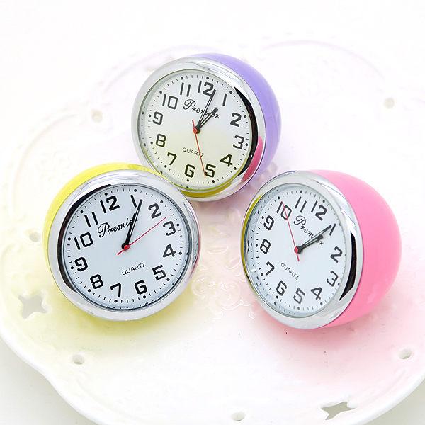 《好時光》繽紛馬卡龍色  半圓球造型 精品 迷你小時鐘 小桌鐘 小座鐘