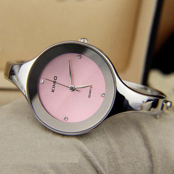 《好時光》KIMIO 簡約設計  晶鑽時刻 手鐲錶 - 類CK錶風格