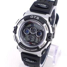 《好時光》 O.T.S 運動風七彩冷光多功能防水電子錶/男錶/兒童錶  OTS (單支價格)