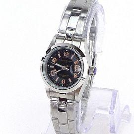 《好時光》Valentino 范倫鐵諾 黑面數字款經典風格(日期窗)時尚女錶-玫金數字