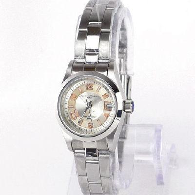 《好時光》Valentino 范倫鐵諾 玫瑰金數字款銀白經典(日期窗)時尚女錶