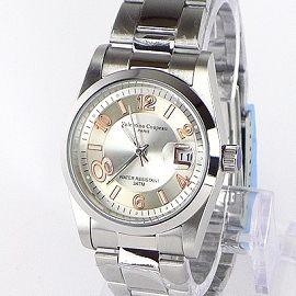 《好時光》Valentino 范倫鐵諾 玫瑰金數字款銀白經典(日期窗)時尚男錶