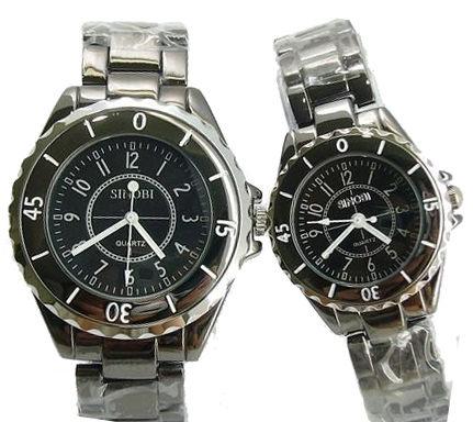 《好時光》SINOBI 黑色/白色  可旋轉框  時尚小香奈 男錶/女錶-單支價格