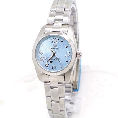 《好時光》PROKING 皇冠 心動時刻3.6.12 晶鑽時刻不鏽鋼時尚女錶-粉/紫/藍-單支