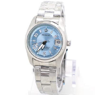 《好時光》PROKING 皇冠 大8數字 (日期窗) 時尚男錶/女錶-淺藍-單支