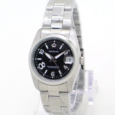 《好時光》PROKING 皇冠 大8數字 (日期窗) 時尚男錶/女錶-黑色-單支價格
