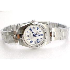 《好時光》PROKING 皇冠大8數字不鏽鋼時尚女錶-銀白色-單支