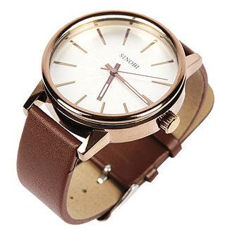 《好時光》SINOBI   簡約放射狀刻度 立體鏤空鏡面  潮流時尚男錶/女錶-單支