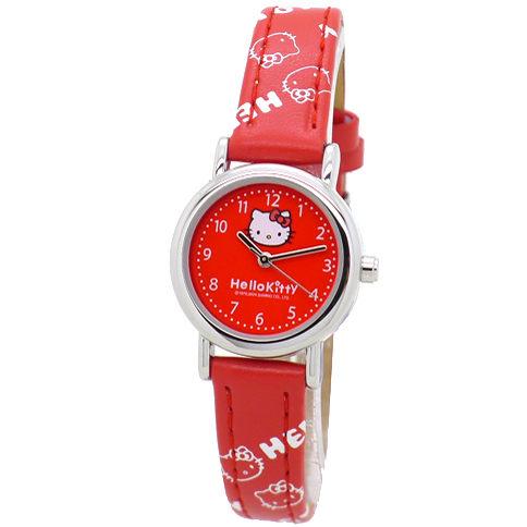 《好時光》Hello kitty 日本SANRIO三麗甌 ~禮物~ 小錶徑 經典凱蒂小可愛清晰數字兒童錶/女錶