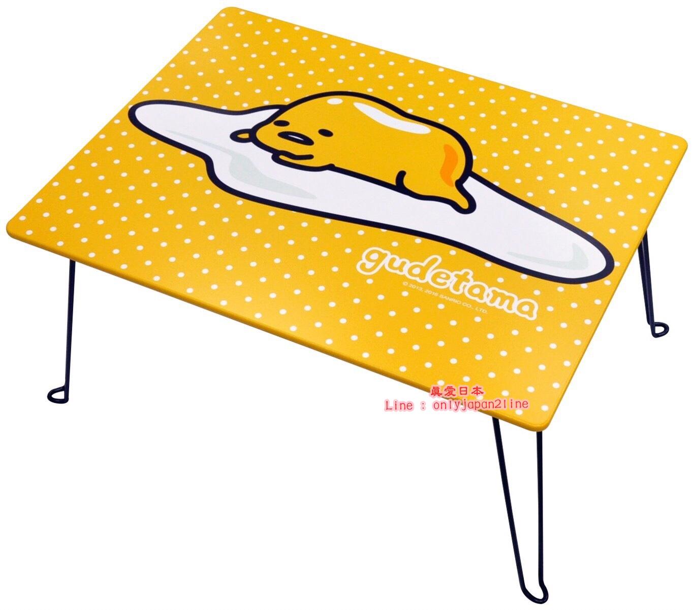 【真愛日本】16092900006   長桌-GU圓點  三麗鷗家族 蛋黃哥 Gudetama  長桌 書桌  木桌