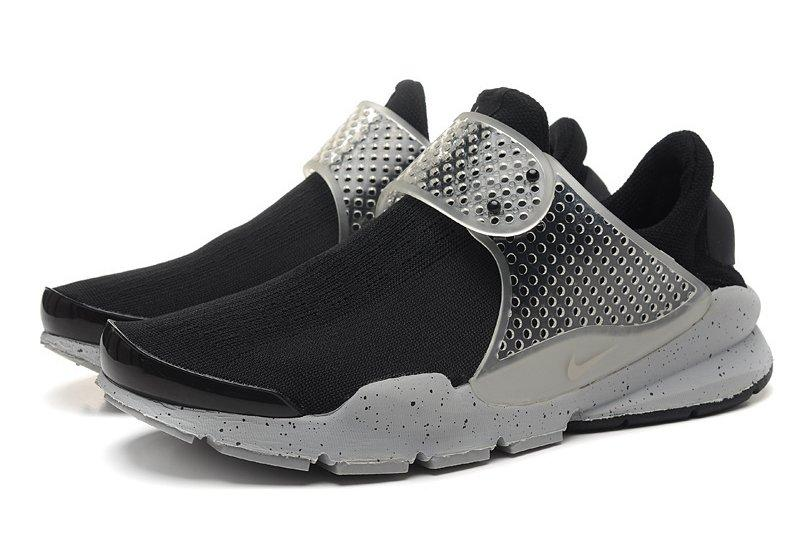 fragment design x NIKE Sock Dart SP Lode 藤原浩 黑/灰潑墨 男女情侶鞋