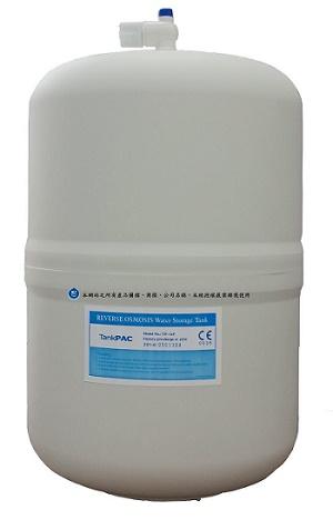 台灣製CE認證/NSF認證/塑膠外殼RO儲水桶(壓力桶)16公升
