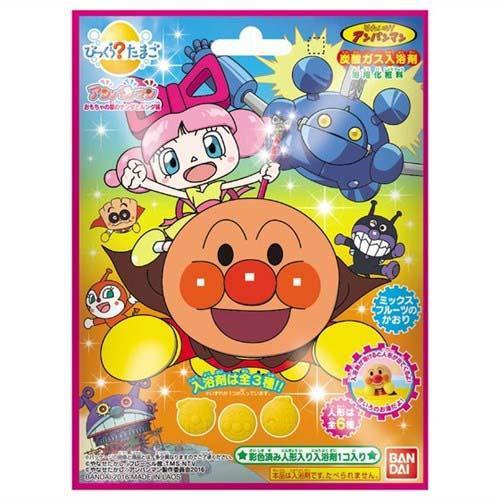麵包超人 入浴劑 + 玩偶玩具 泡澡用 日本帶回BANDAI正版