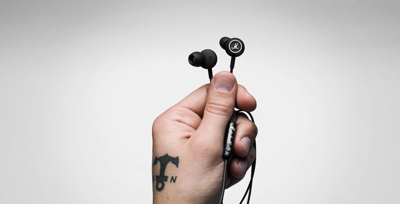 {音悅音響MUSIC HI-FI}英國設計Marshall MODE 耳道式耳機 單鍵線控 公司貨