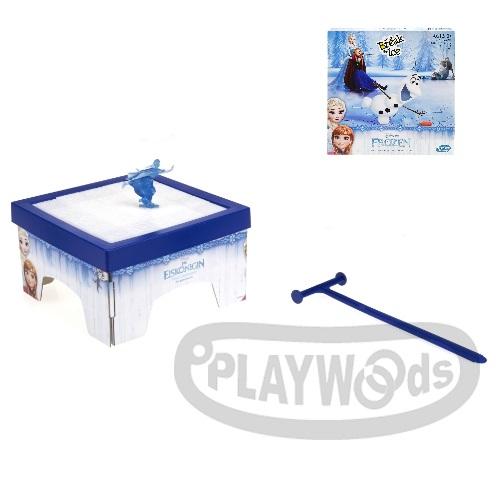 【Playwoods】[MB智樂遊戲]迪士尼冰雪奇緣破冰遊戲Don't Break the Ice(兒童遊戲/可多人遊玩/Cootie Game/益智桌遊/艾莎/安娜/雪寶/團康/Disney/孩之寶Hasbro)