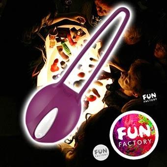 德國 FUN FACTORY SMARTBALLS teneo uno 聰明球球單球 (白/紫色) 情趣用品