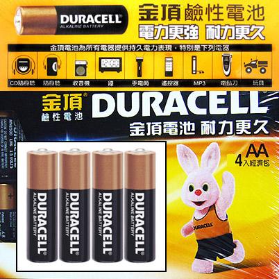 金頂 3 號 AA 鹼性電池(4入經濟包) 電池/充電器 情趣用品