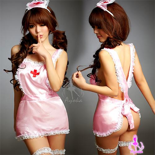 專屬看護!誘惑五件式護士服 角色扮演服 COSPLAY 情趣用品