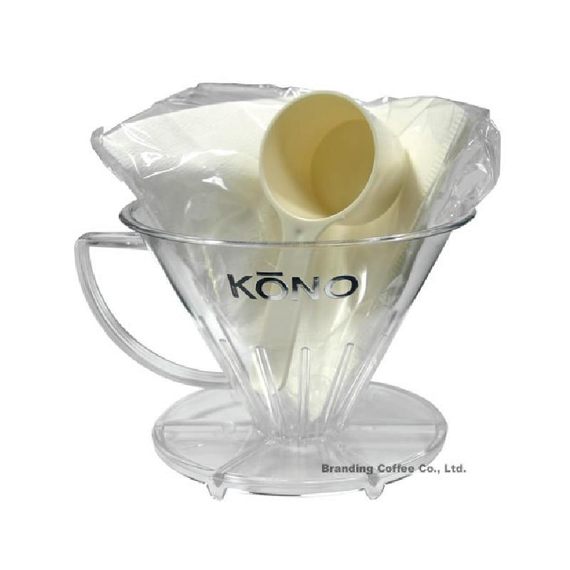 KONO TF-40 名人 手沖濾杯1~4人  附濾紙與12g咖啡匙