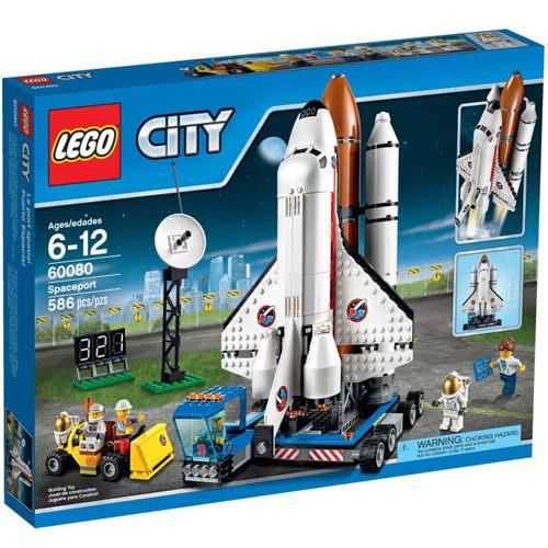 【LEGO 樂高積木】City 城市系列 - 太空中心 LT 60080