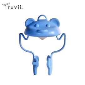 Truvii 動物光罩(粉藍熊) 露營燈 光罩 手電筒 工作燈 旅行光罩 照明 帳蓬燈