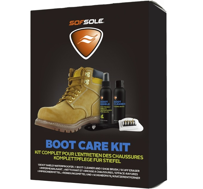 SOF SOLE 600439 Boot Care Kit 皮革靴專用清潔保養組